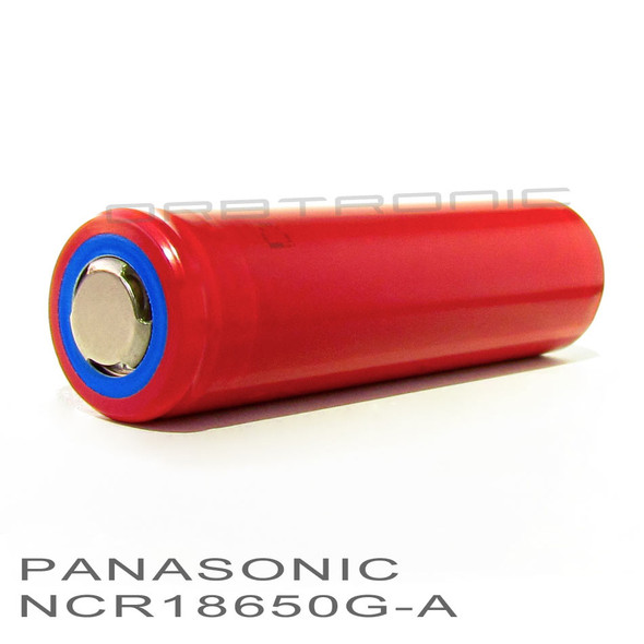Panasonic-Sanyo 18650 3500mAh NCR18650GA Li-ion High Drain Battery Flat top