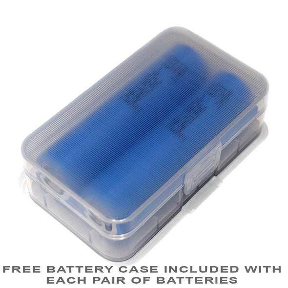 Samsung 20S 30A 18650 Battery INR18650-20S holder case