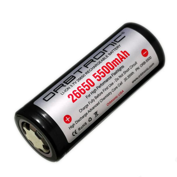 Orbtronic 26650 5500mah Battery Li-ion