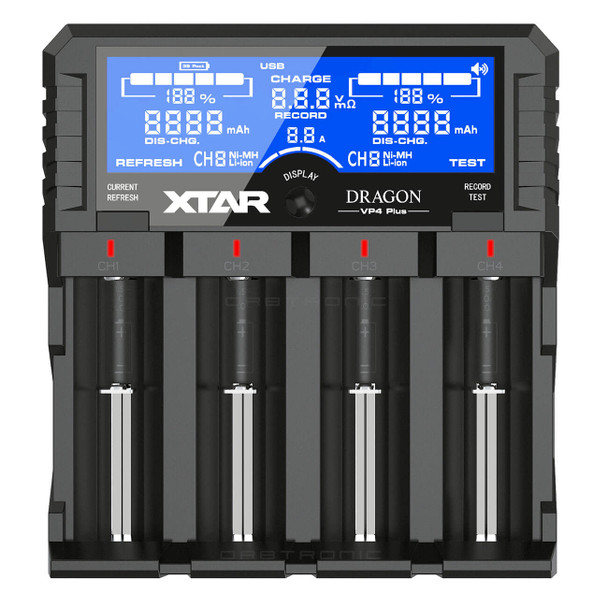 VP4 Plus Dragon Battery Charger Tester Analyzer