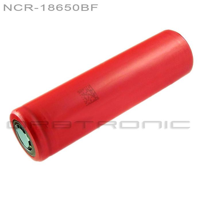 Panasonic-Sanyo 18650 NCR18650BF 3400mAh Li-ion Battery - Flat top