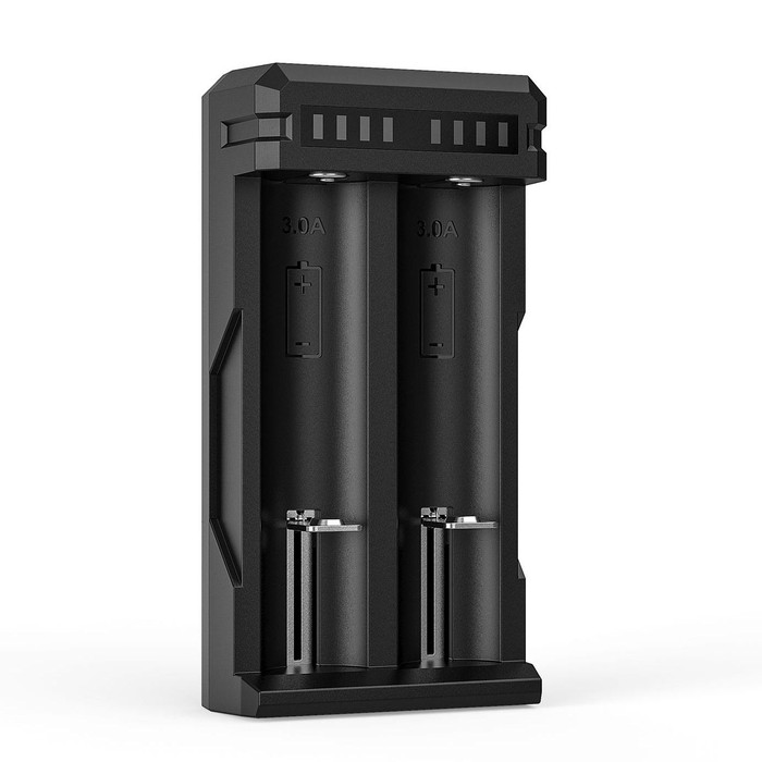 Fast USB XTAR SC2 Battery charger for Li-ion Batteries (QC3.0 Compatible)