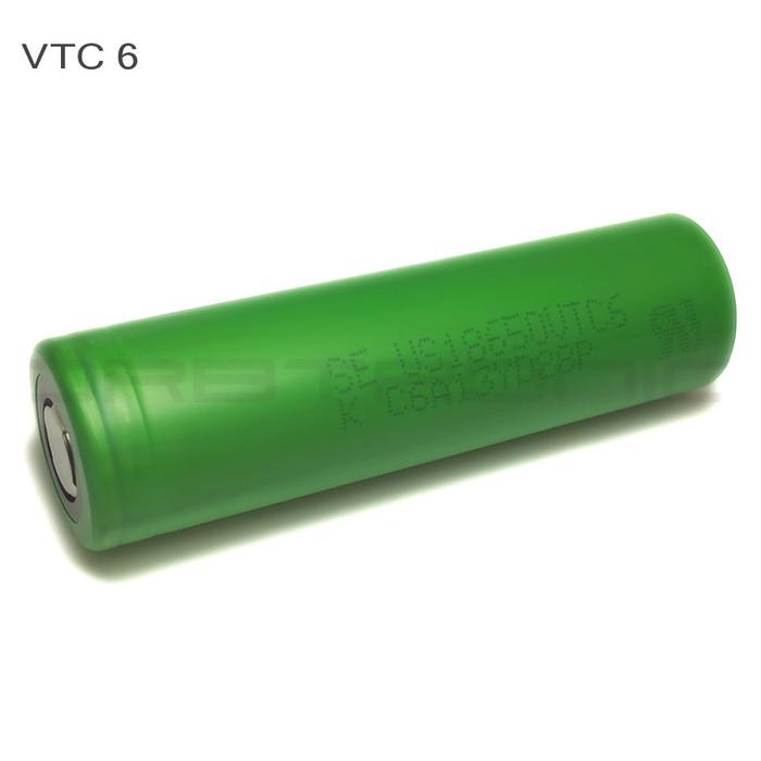 Sony VTC6 18650 Battery 3000mAh Flat Top US18650VTC6 IMR High Drain