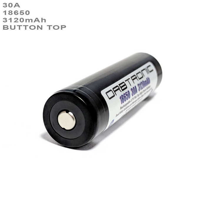 18650 button top battery 30a 40a 20a high drain