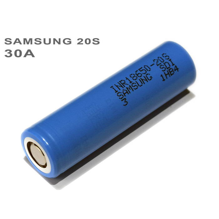 Samsung 20S 30A 18650 Battery INR18650-20S