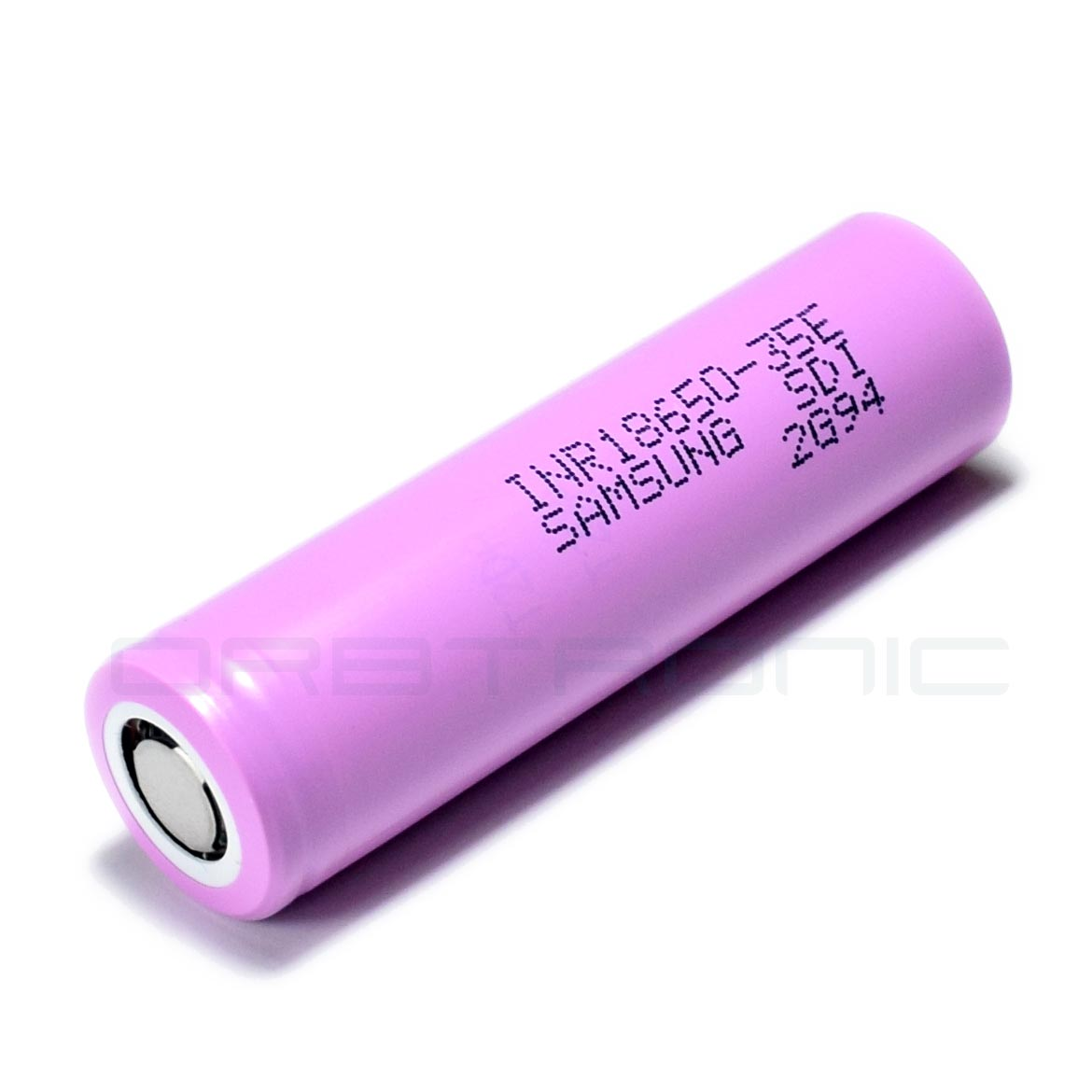 Samsung 35e 3500mah 18650 Flat Top Battery Protection Circuit For Led Torch Sanyo Cell