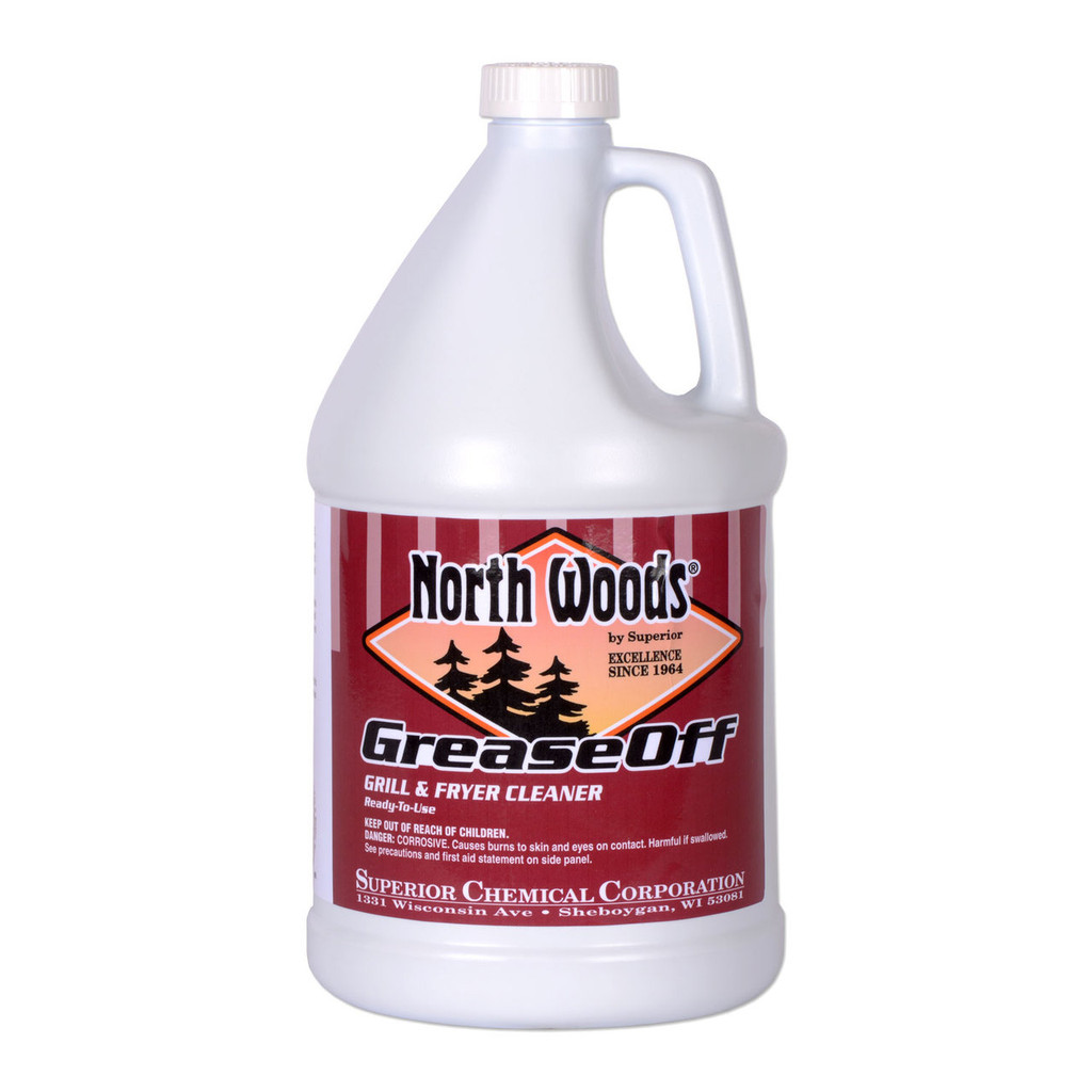 Grease Off Grill and Fryer Cleaner