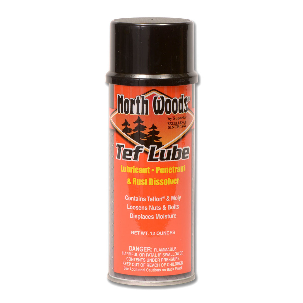 North Woods Tef Lube Long Lasting Lubricant