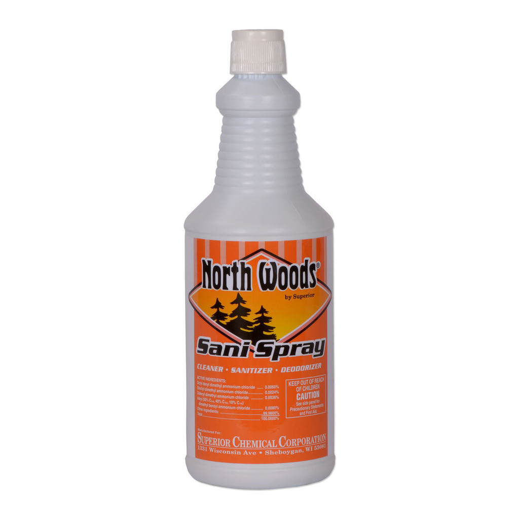 North Woods Sani Spray Kitchen Sanitizer