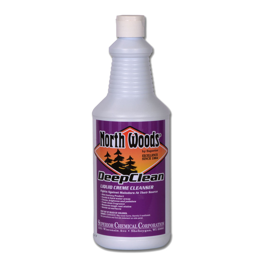 North Woods Deep Clean Creme Cleanser