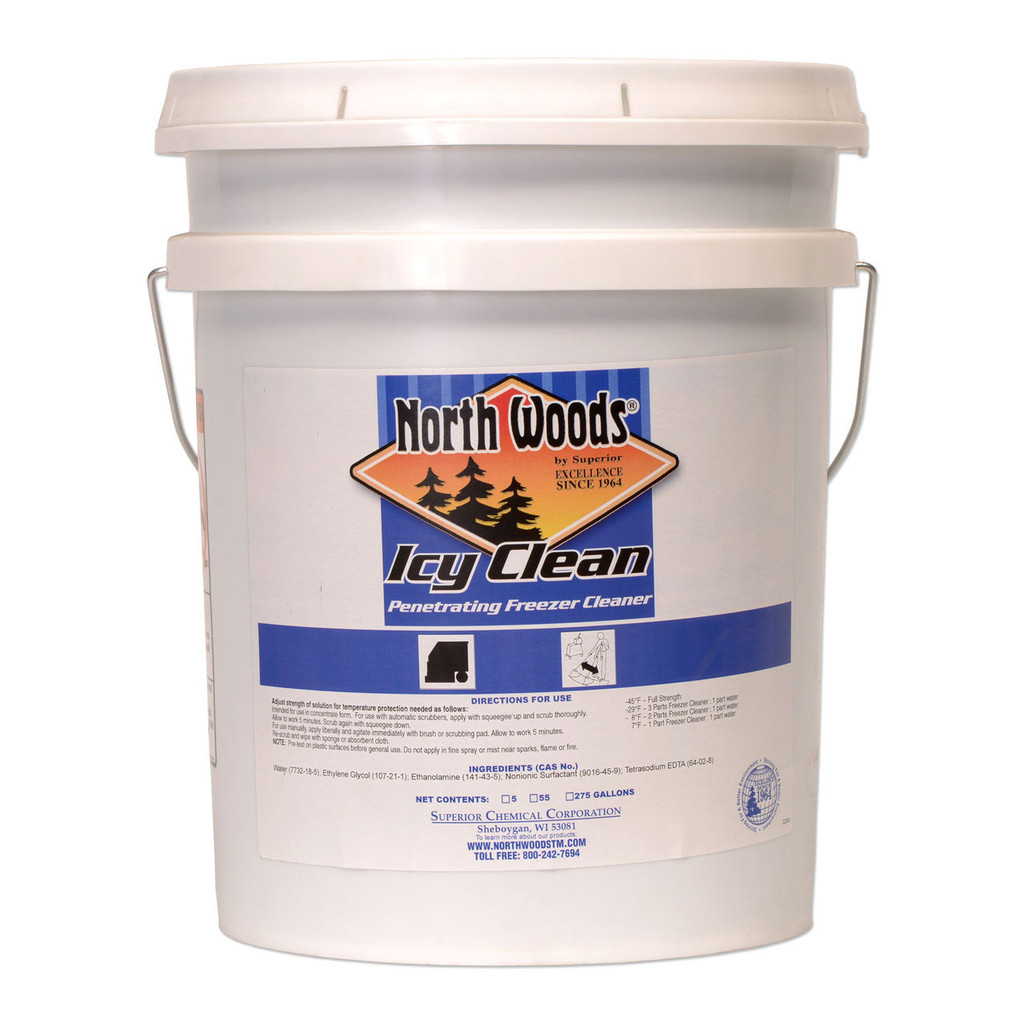 North Woods Icy Clean Nonfilm Freezer Cleaner