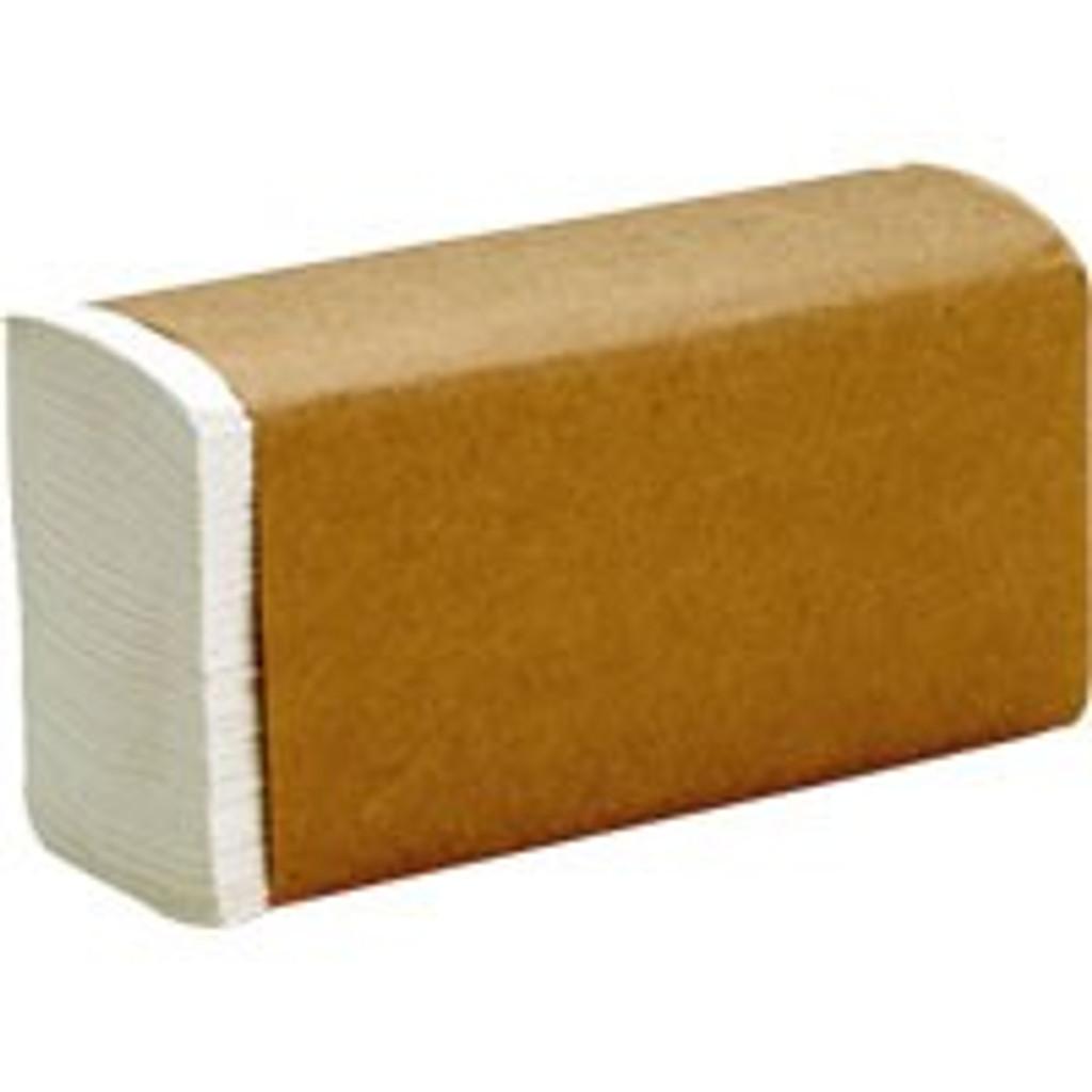 Preserve Single-Fold White Towel