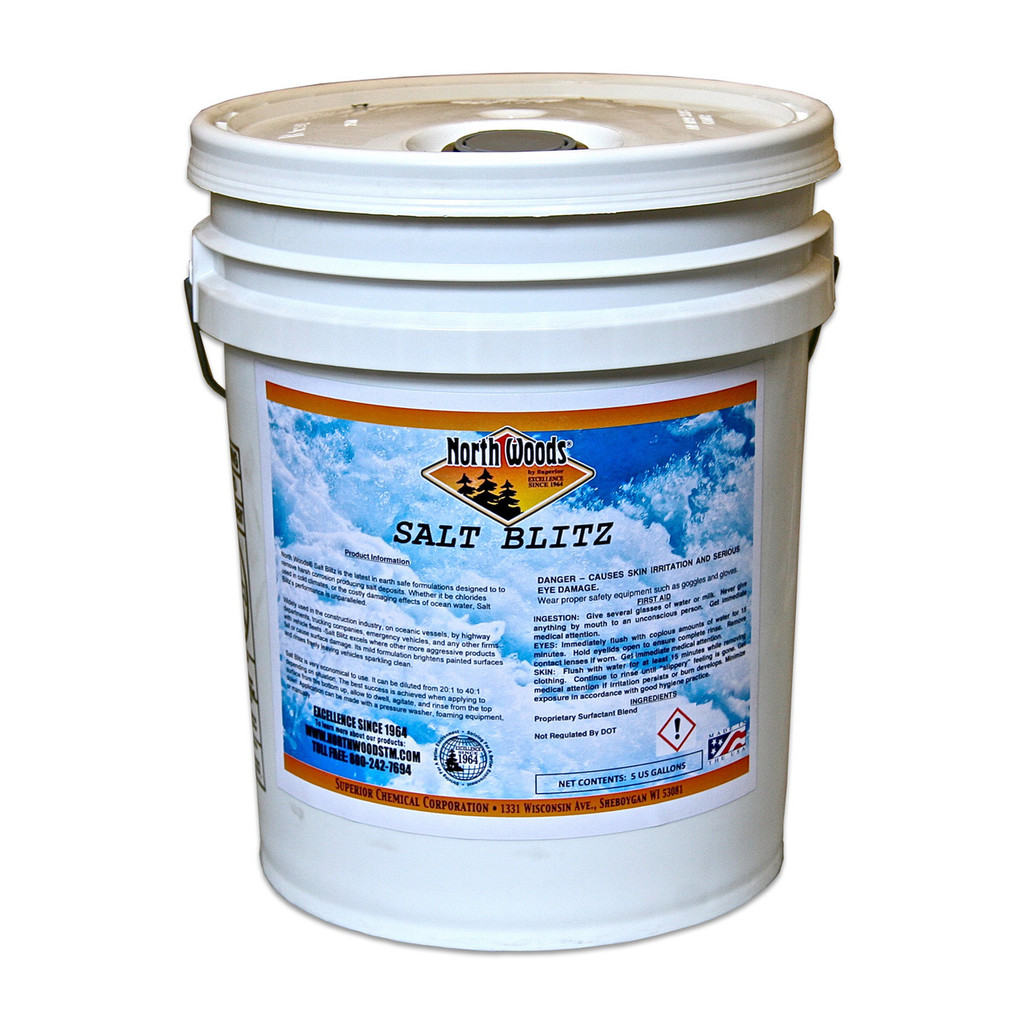 North Woods Salt Blitz Salt Removing & Neutralizing Wash