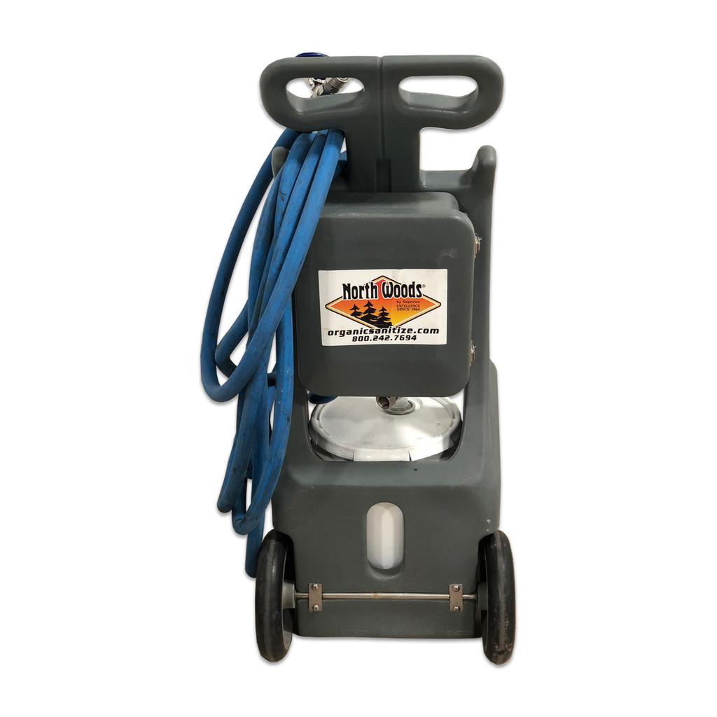 North Woods Foam Cart - Foam & Rinse - 30