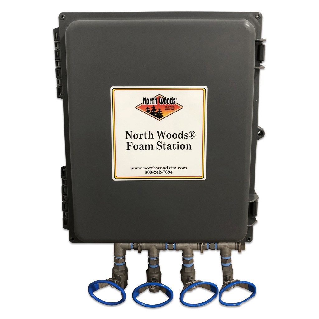 North Woods Foam Station - Wall Mount Concentrate 3 Product Foam Unit