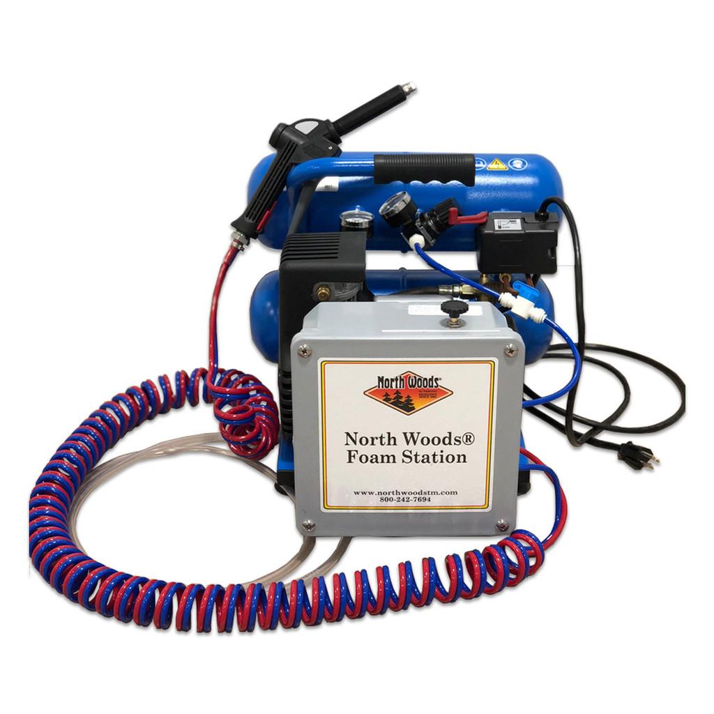 North Woods Air Compressor Foam Unit