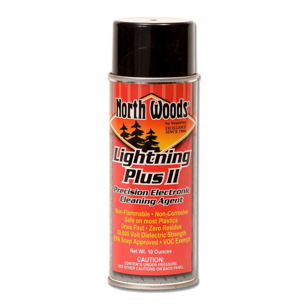 North Woods Lightning Plus II Electronics Cleaner