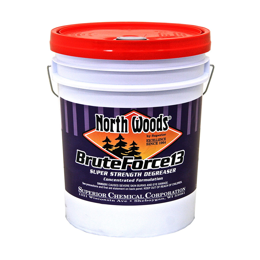 North Woods Brute Force 13 Industrial Strength Degreaser