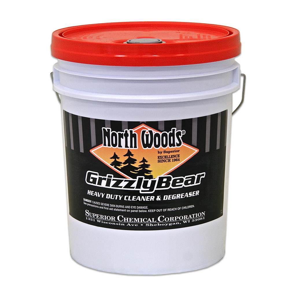 North Woods Grizzly Bear Heavy Duty Industrial Degreaser