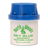 North Woods Sky Blue Self Cleaning Toilet Cartridge