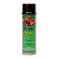 North Woods Fast Brake Professional Brake Cleaner