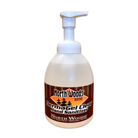 Derma Gel Clear Hand Sanitizer - Refillable/Reusable 550ml pump bottle