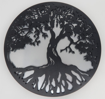"12"" Painted Two layer Tree of life"