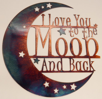 "Mini "" I love you to the moon and back"""