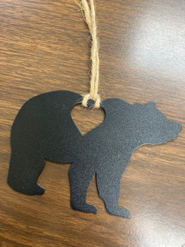 Bear With Heart Ornament