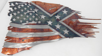 "24"" American/Confederate Flag"