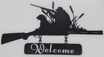 Shotgun Welcome Sign