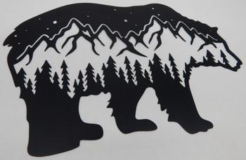 Mountain Bear Scene