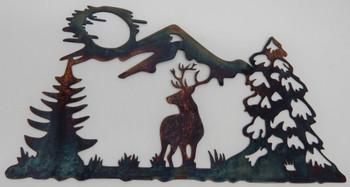 Deer Mountain Scene