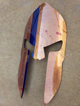 """22"""" Bloody Spartan Helmet"""