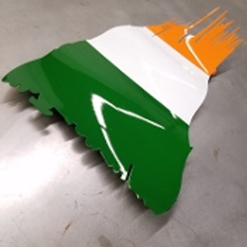 "Ireland Battle Worn Flag 36"" x 21"""