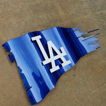 LA Battle Worn Flag