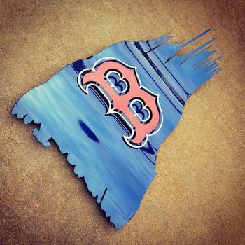 Boston Battle Worn Flag