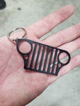Jeep Grille Keychain