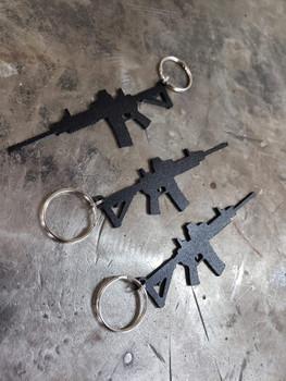 Pew Pew Pew Keychain