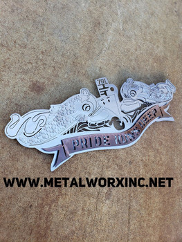 Navy submarine pin
