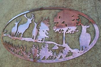 Scenic Deer sign