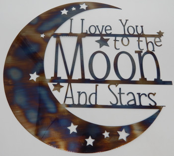 'I love you to the Moon and Stars""