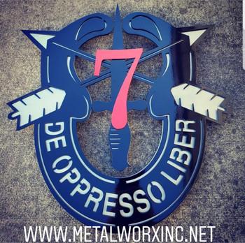 3 Layer 7th SFG Crest