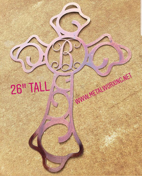 """Beautiful Disaster"" Cross Monogram"
