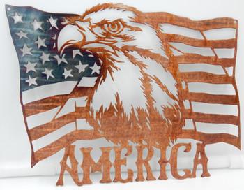 """""""America"""" Eagle Flag"""