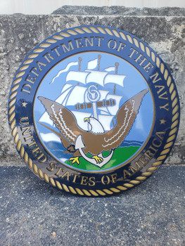 2' U.S. Department of the Navy Seal