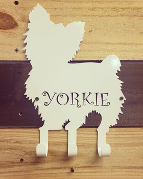 Yorkie Leash/Collar Holder
