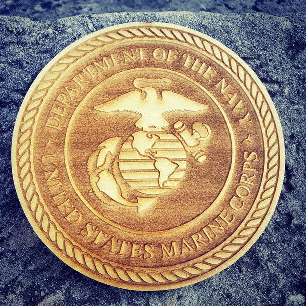 """5"""" US Marine Corps Cut out"""