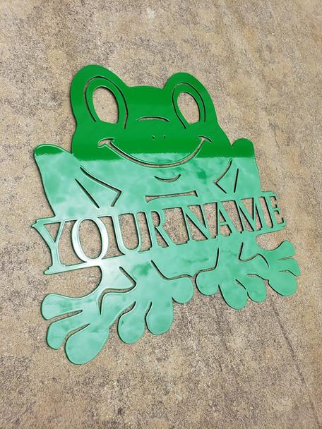 Frog Monogram
