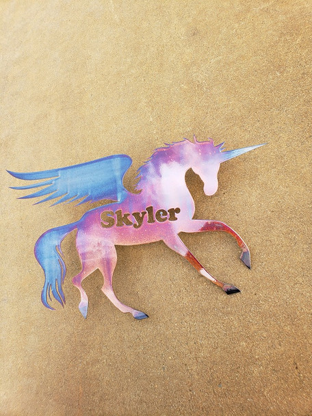 Custom Name Unicorn